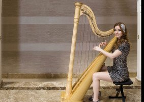 Live Harp Music for Event & Weddings